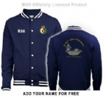 HMS QE Unisex stylish jacket(Back) ~ OFFICIALLY LICENCED PRODUCT